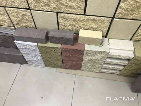 Декоративный блок (шлакоблок) для забора