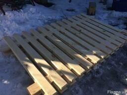 Декоративный деревянный забор 004