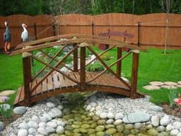 Декоративный мостик для сада №2
