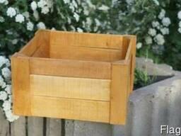 Декоративный ящик для свадьбы фуршета банкета фотозоны