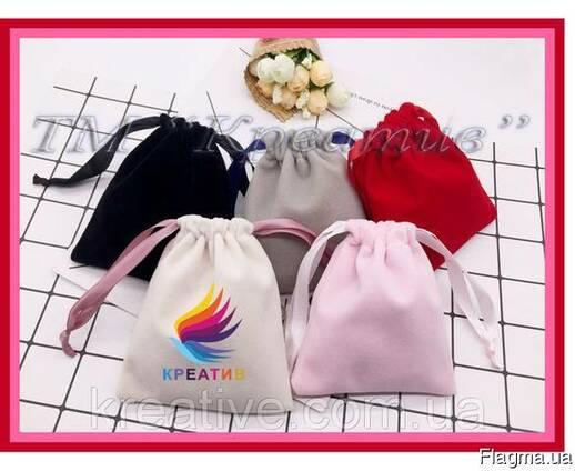 Декоративные мешочки из бархата, велюра (под заказ от 50 шт)