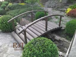 Декоративные мостики для сада и пруда