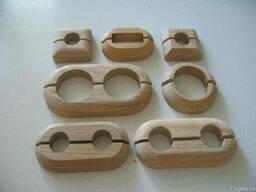 Декоративные накладки/розетки на трубы (деревянные)