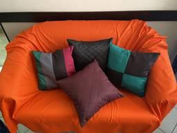 Подушка стеганная декоративная размер 40 на 40