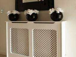 Декоративные решетки на радиатор , резные решетки на батарею