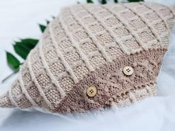 Декоративные вязанные подушки тм Liwoopi