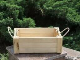 Декоративные ящики прямоугольные 45х26х16 см