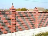 Декоративные Заборные Блоки под Рваный Камень. - фото 4