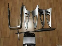 Декоры декор накладки салона Aluminum Audi A6 C7 комплект