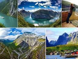 Деловая поездка в Норвегию: «Легендарные фьорды севера».