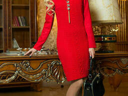 Демисезонное платье под горло 44-50 , доставка по Украине