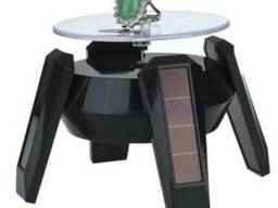 Демонстрационный вращающийся столик на солнечной батарее