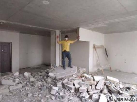 Разбиваем бетон