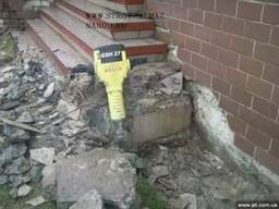 Демонтаж бетона