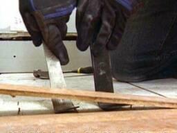 Демонтаж дерев'яної, паркетної підлоги в Чернівцях