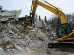 Демонтаж кирпича в Харькове.Подготовка квартиры под ремонт