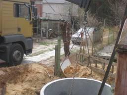 Демонтаж копка траншеи ямы демонтажные земляные работы снос