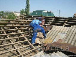 Демонтаж крыши Одесса