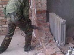Демонтаж перегородок Одесса
