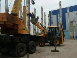 Демонтаж, строительство промышленных зданий.