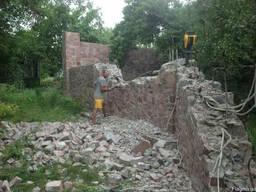 Демонтаж - разборка, снос дома. Разборка зданий Киевская обл - photo 1
