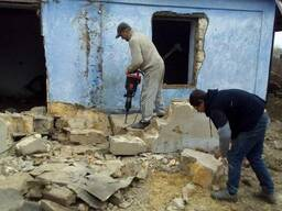 Демонтаж разборка зданий