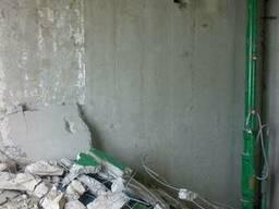 Демонтаж бетона, стен, сантехкабин, перегородок Харьков.