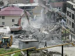 Демонтаж сараев домов вывоз на свалку утилизация