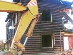 Демонтаж, снос домов, сараев, пристроек, ангаров.