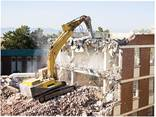 Снос зданий и сооружений Демонтаж дома квартир Вывоз мусора - фото 3