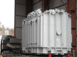 Демонтаж трансформаторов - такелажные работы, погрузка.