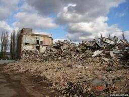 Демонтаж зданий Киев.
