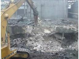 Демонтаж зданий в Одессе и области