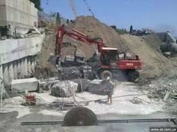 Демонтаж железобетонных конструкций Киев, Запорожье, Днепр.