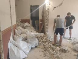 Демонтажные работы. Демонтаж квартиры. Демонтаж стен, стяжки пола, перегородок, штукатурки