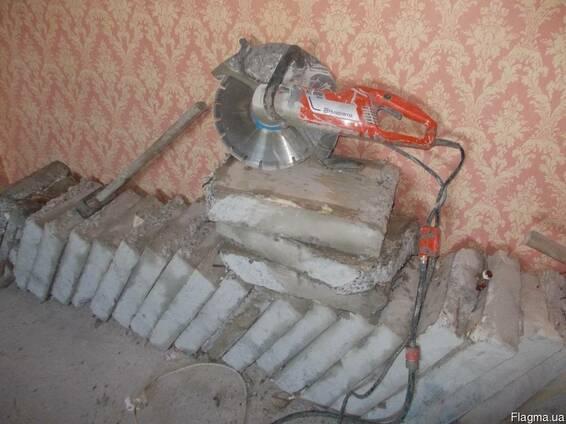 Алмазная резка бетона, проёмов, стен, сантехкабин итд. Николаев