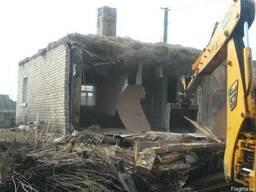 Демотнаж, разборка зданий Киев.Снос аккуратная разборка дома