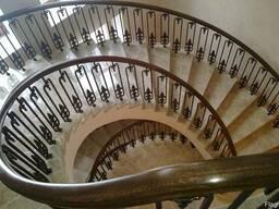 Дерев'яні, бетонні сходи, марші (деревянные лестницы)