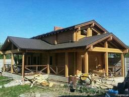 Дерев'яні будинки, бруси, погонаж