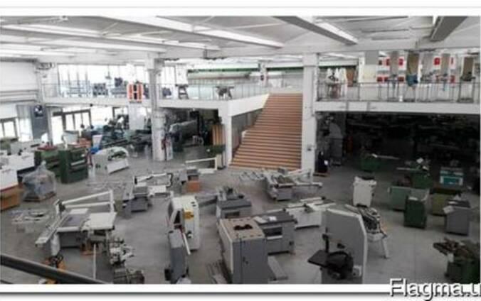Деревообрабатывающее и мебельное б/у оборудование с Италии