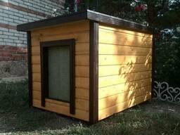 Деревянная будка для собак - фото 6
