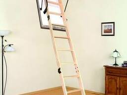 Деревянная чердачная лестница OMAN POLAR 120х70 см
