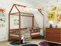 Деревянная кровать домик Джери