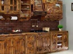 """Деревянная кухонная мебель для кухни """"Мелисса""""Код: КГ-3"""
