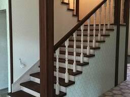 Деревянная лестница Одесса Киев, изготовление лестниц