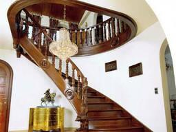 """Деревянная лестница в дом """"Умопомрачение"""""""