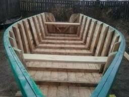 Деревянная лодка (Баркас)(Каюк)