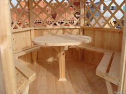 Деревянная мебель. Дачная мебель