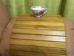 Деревянная накладка – подлокотник. Ясень, дуб.