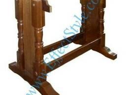 Деревянная опора для стола / Подстолье для стола